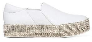 Vince Women's Wilden Slip-On Leather Espadrille Sneakers