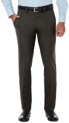"Haggar Slim Fit Flat Front Pants - 29-34"" Inseam"