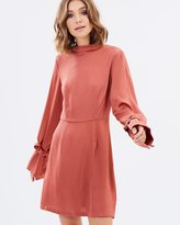 The Fifth Label Cue The Beats Long Sleeve Dress