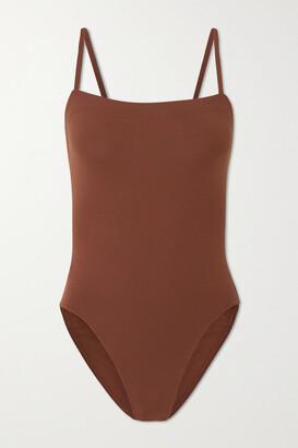 Eres Les Essentiels Aquarelle Swimsuit - Brown