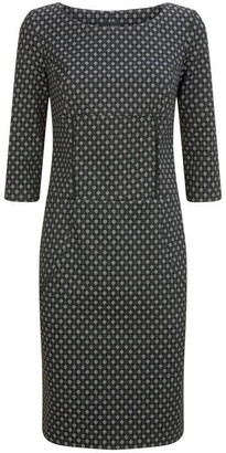 James Lakeland Dotty Jacquard Dress