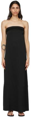 Esse Studios Black Viscose Column Dress