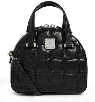 MCM Star-Quilted Essential Cross-Body Bag