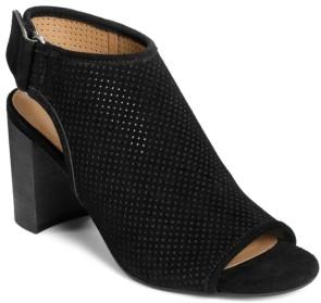 Aerosoles High Impact Peep Toe Booties Women's Shoes