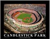 Art.com Candlestick Park San Francisco California Wall Art