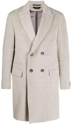 Ermenegildo Zegna Classic Double-Breasted Coat