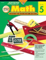 Creative Teaching Press - Advantage Math Activity Book - Grade 5