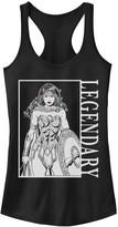 Licensed Character Juniors' DC Comics Wonder Woman Legendary Poster Tank Top
