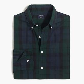 J.Crew Plaid regular flex casual shirt
