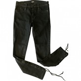 Hudson Black Cotton - elasthane Jeans for Women