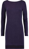 MICHAEL Michael Kors Printed Stretch-Jersey Mini Dress