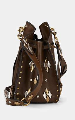 Isabel Marant Women's Radja Leather Bucket Bag - Brown