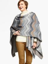 Talbots Chevron Stripe Wrap