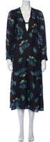 Thumbnail for your product : Lake Studio Silk Long Dress Black