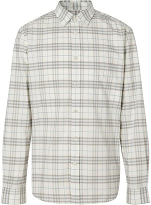 Burberry Small Check Shirt
