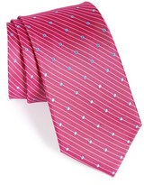 Nordstrom Men's 'Dot Street' Woven Silk Tie
