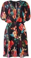 Biba Printed kimono dress