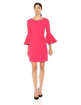 Trina Turk Women's Bromely Embellished Bell Sleeve Dress
