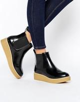 Monki Clean Calf Boot