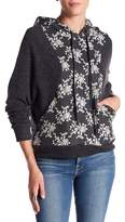 Anama Embroidered Inset Hoodie