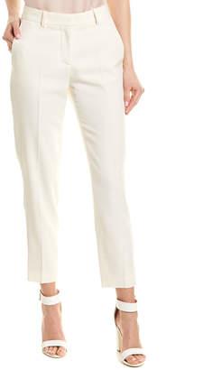 Stella McCartney Track Stripe Silk-Lined Wool Pant