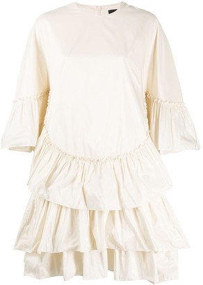 Simone Rocha Short Ruffle Dress