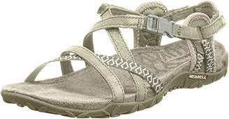 Merrell Women's Terran Lattice II Heel Sandals,5 UK (38 EU)