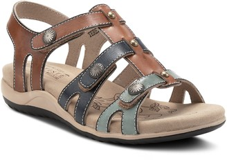 Spring Step L'Artiste By Multi-Strap Leather Sandals - Terezia