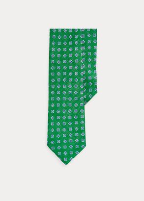 Ralph Lauren Neat Linen Narrow Tie