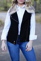 SNAZZY CHIC BOUTIQUE Wool Fur Vest