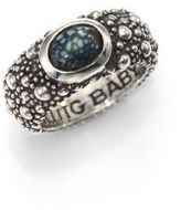 King Baby Studio Sterling Silver & Turquoise Ring