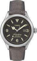 Timex Originals Modern Mens Brown Leather Strap Watch TW2P75000AB