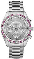 Caravelle New York The Boyfriend Collection Chronograph Stainless Steel Bracelet Watch