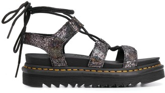 Dr. Martens Wrapped Ankle Sandals