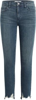 Sam Edelman The Kitten Destroyed Hem Ankle Skinny Jeans