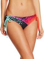 Fox Racing Chargin Lace Up Side Tie Womens Bikini Bottoms