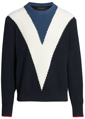 Rag & Bone Emory Intarsia Sweater