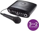 Easy Karaoke EKG-88B CD/CDG Karaoke Machine With Microphone - Echo Effect & CDG Demo Disc