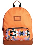 Asos Backpack With Geo-Tribal Pocket