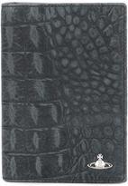 Vivienne Westwood crocodile skin effect cardholder