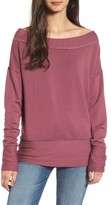 Stateside Women's Off The Shoulder Pullover