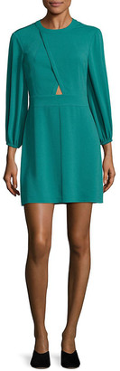Tibi Savana Crepe Shift Dress