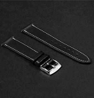 Weiss - Leather Watch Strap - Men - Black