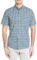 Maker & Company Men's Regular Fit Check Twill Sport Shirt