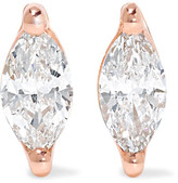 Anita Ko 18-karat Rose Gold Diamond Earrings - one size