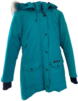Canada Goose Green Coat for Women