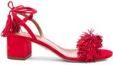 Aquazzura Suede Wild Thing Sandals