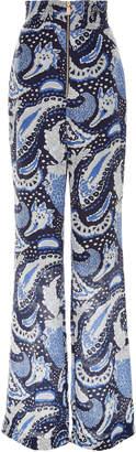 Alice McCall Paisley Silk-Blend Pant