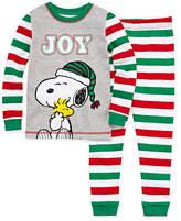 Snoopy 2 Piece Pajama Set - Toddler Boys