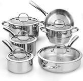 Cooks Standard 11-Piece Stainless Steel Cookware Set